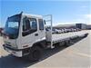 2003 Isuzu FRR500 Medium Car Carrier & Trailer, 3 Car Capacity (Pooraka, SA