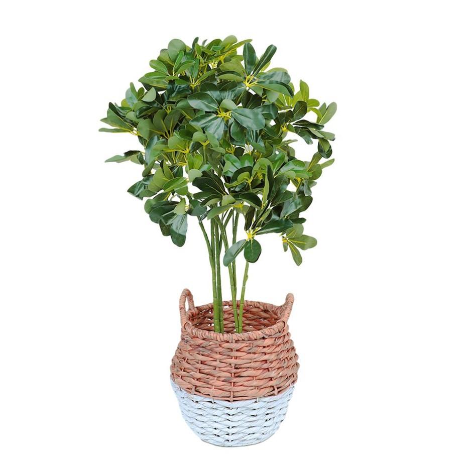 90cm Faux Artificial Schefflera Arboricola/Umbrella Fake Plant Home/Office