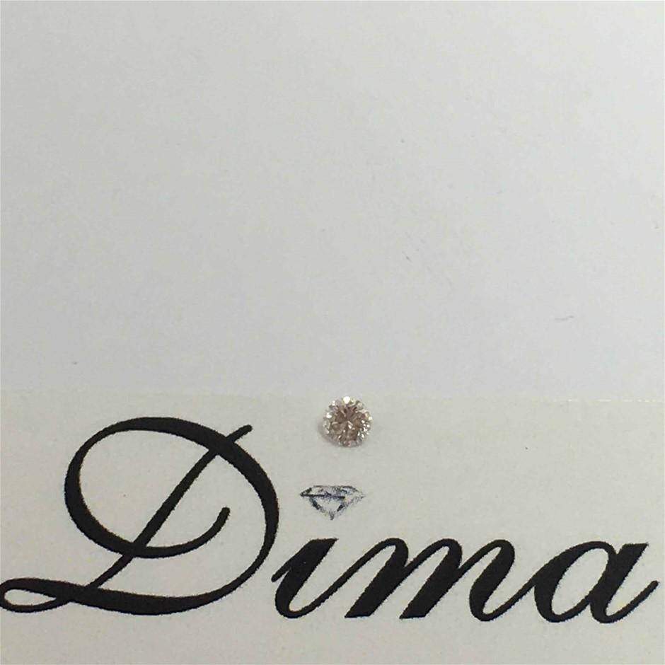 0.083ct Pink Diamond
