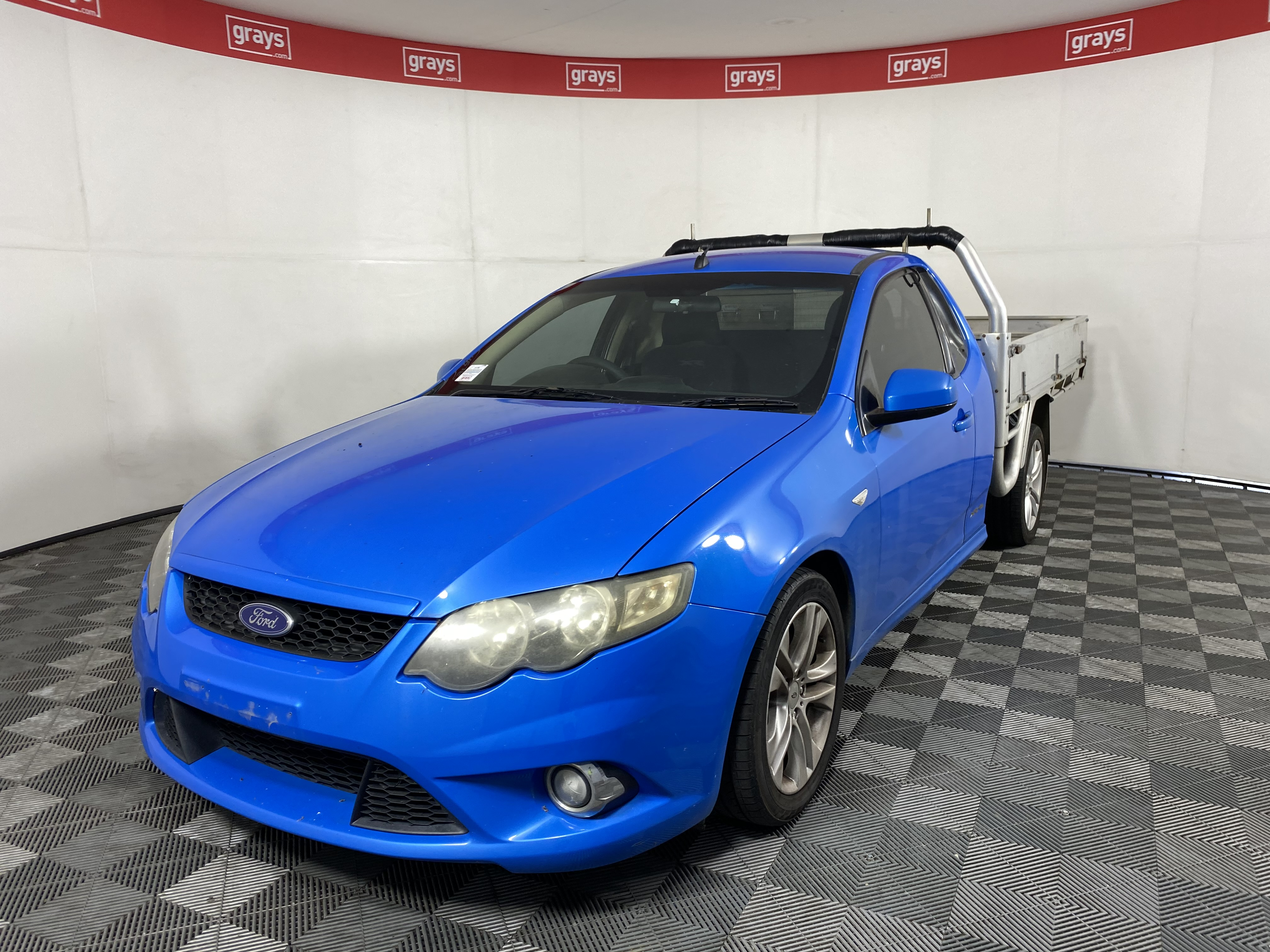 2010 Ford Falcon XR6 FG Automatic Cab Chassis