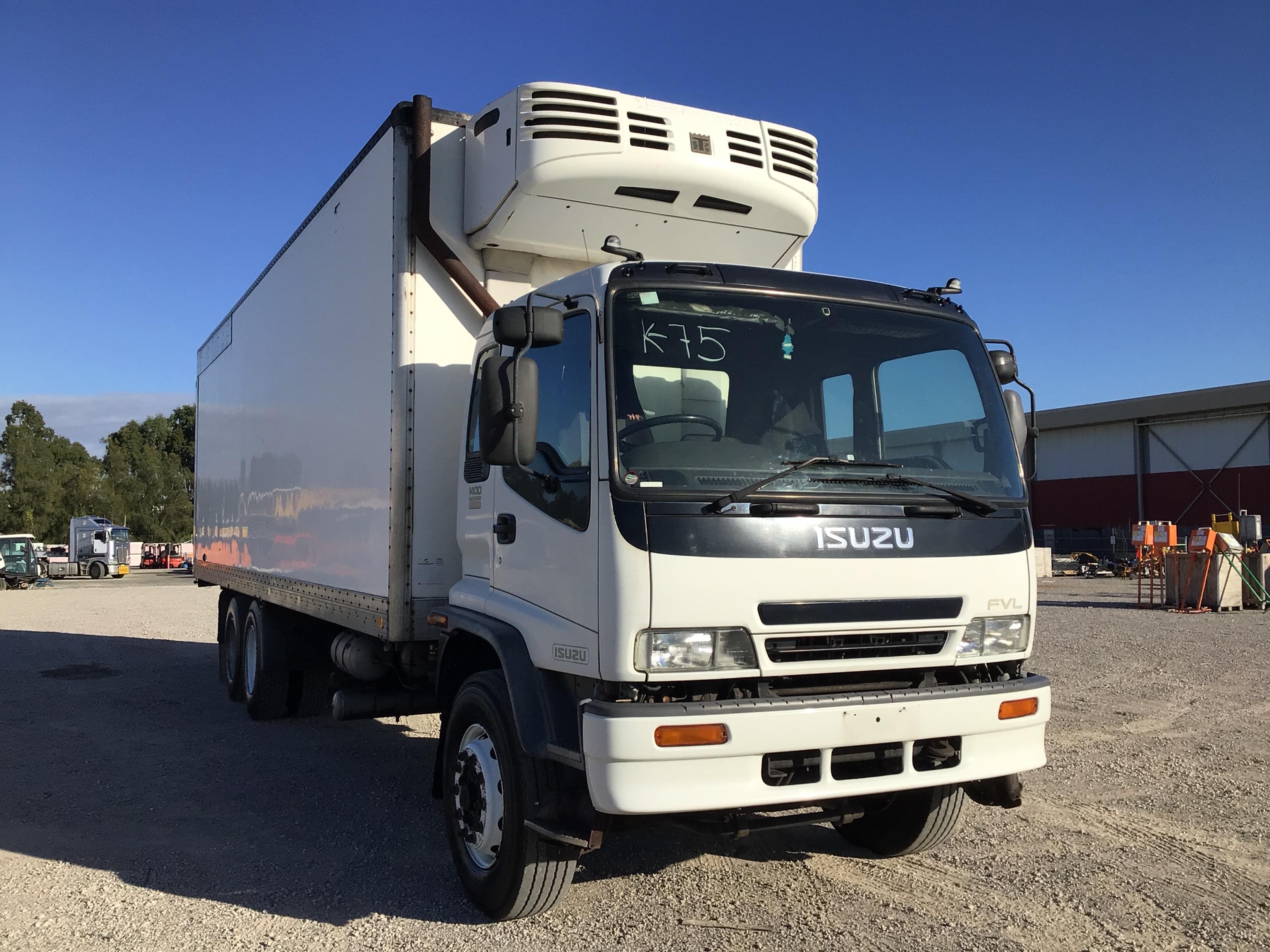 2005 Isuzu FVL 1400 Long Sitec 275 6 x 2 Refrigerated Body Truck