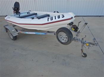 2005 MAC 360 Poly Powerboat