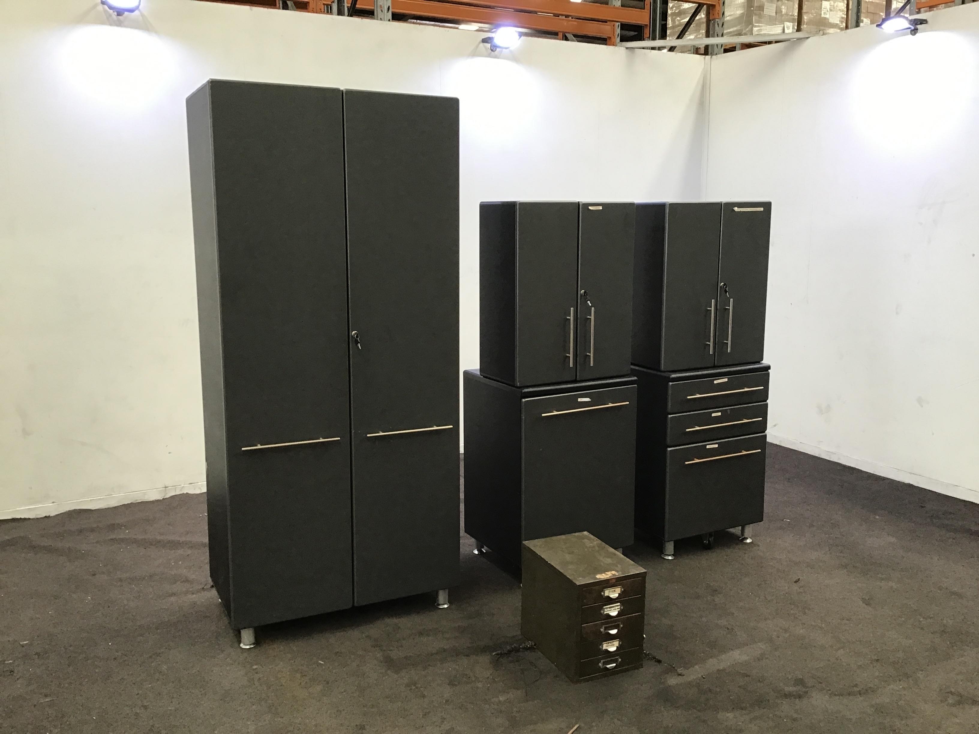 Qty 5 x Storage Cabinets