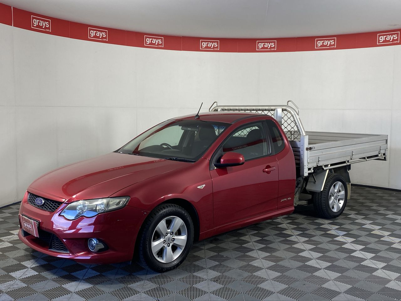 2010 Ford Falcon XR6 (LPG) FG Automatic Cab Chassis