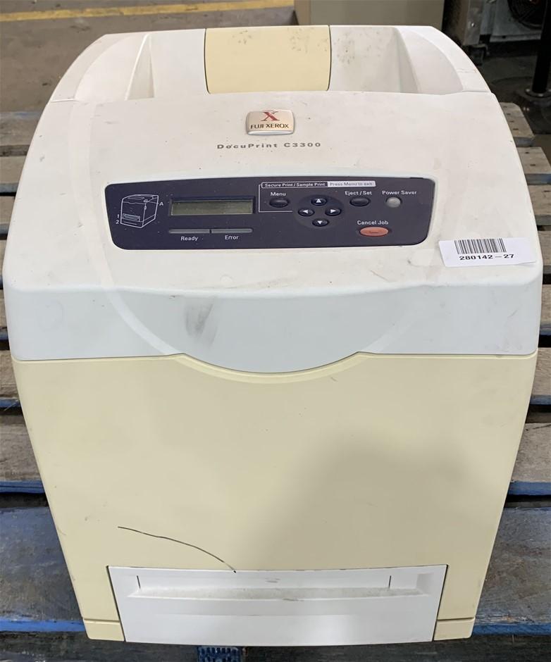 Fuji DocuPrint C3300 Colour Laser Printer