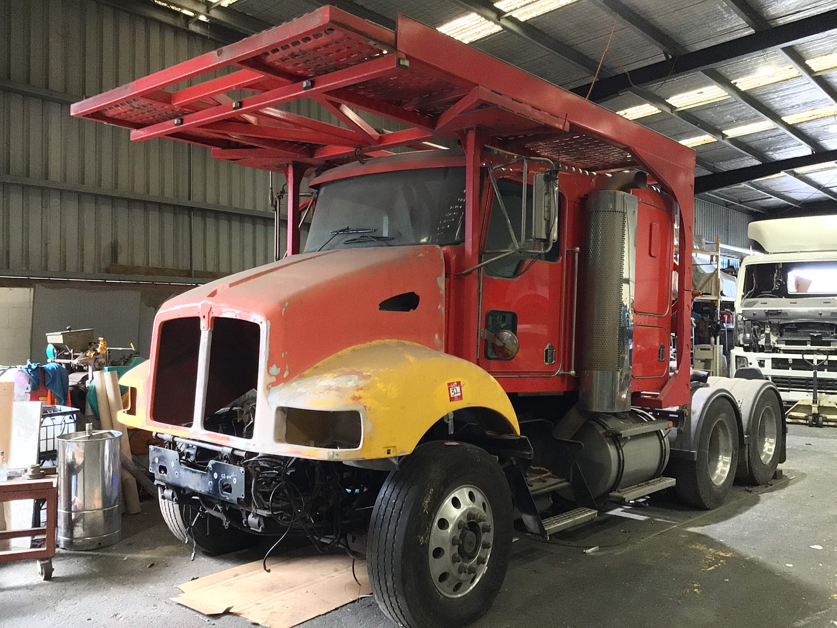 2007 Kenworth 4 x 2 Prime Mover Truck