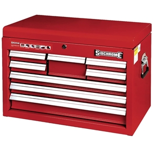 SIDCHROME 26`` 8 Drawer Shallow Tool Che