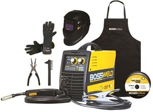 BOSSWELD M100 MIG Welder Starter Kit Com
