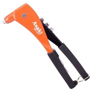 ASAKI Hand Riveter 10.5ins with 4 Tips.