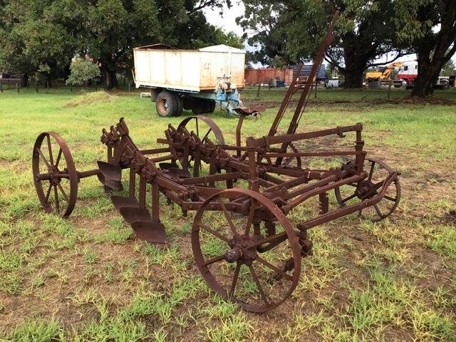 Vintage Mouldboard Plough