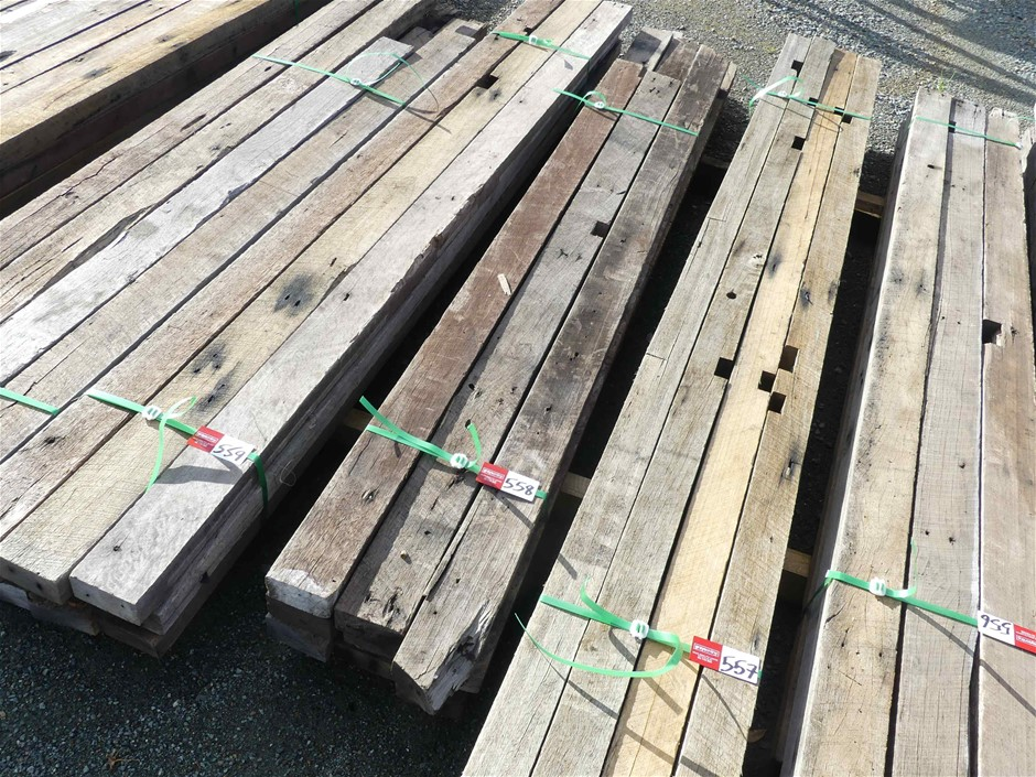 1 x Bundle of Recycled Hardwood Timber
