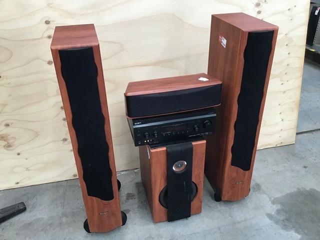 Sony/Jensen 3.1 Home Surround Theatre Sound System