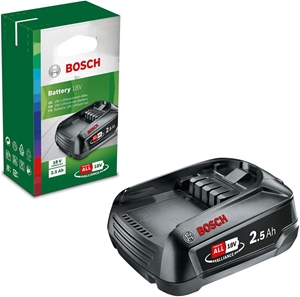 BOSCH 18V Lithium Battery 2.5Ah. Buyers