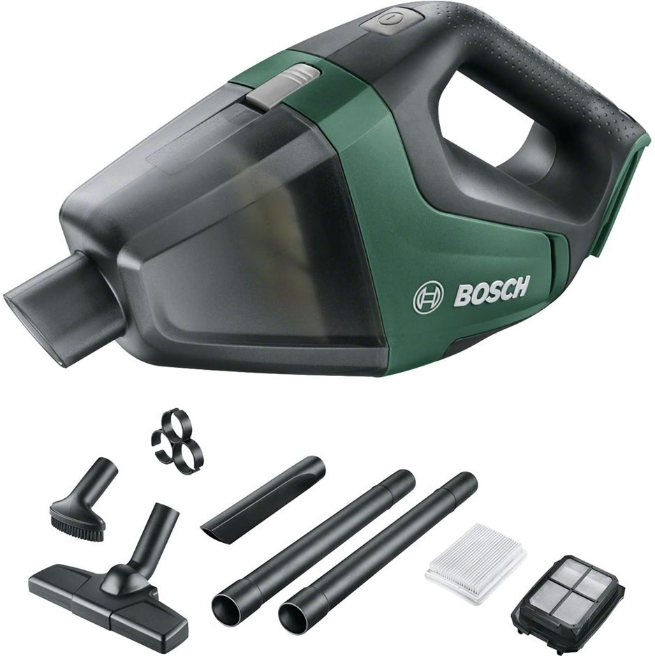 BOSCH Cordless Vacuum Cleaner 18V. N.B. No battery & Charger. Buyers Note -