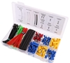 308pc Auto Electrical Connector Kit comprising: 128pcs Insulated Terminals