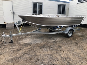 440 Boat with Trailer