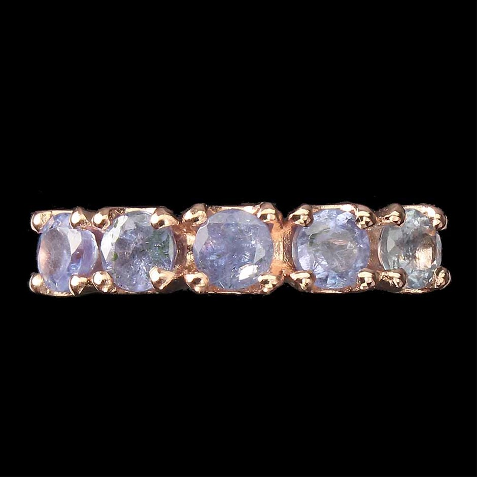 Beautiful Genuine Tanzanite Ring