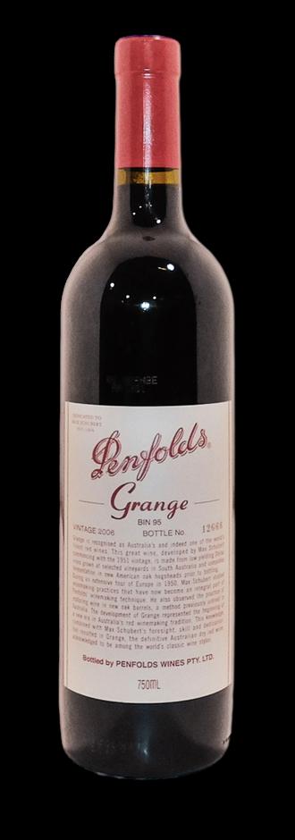Penfolds Bin 95 Grange 2006 (1x 750mL), SA