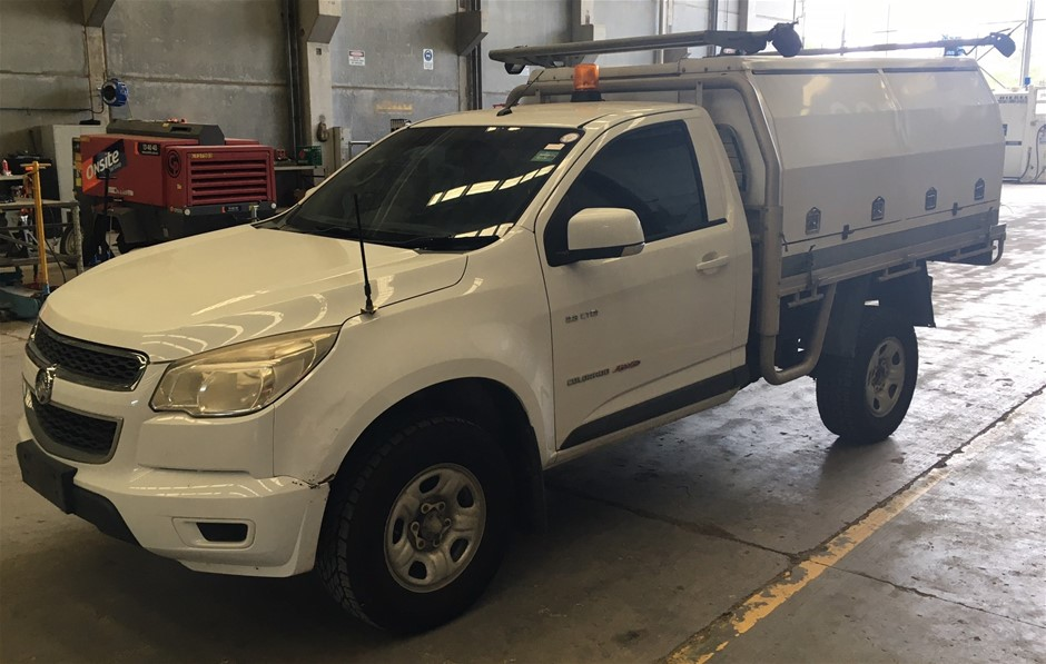 2013 Holden Colorado Service Vehicle 4WD Manual Cab Chassis