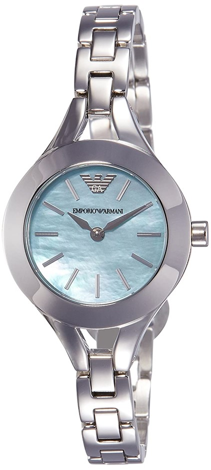 Stylish new Emporio Armani Sea Blue Mother of Pearl Watch