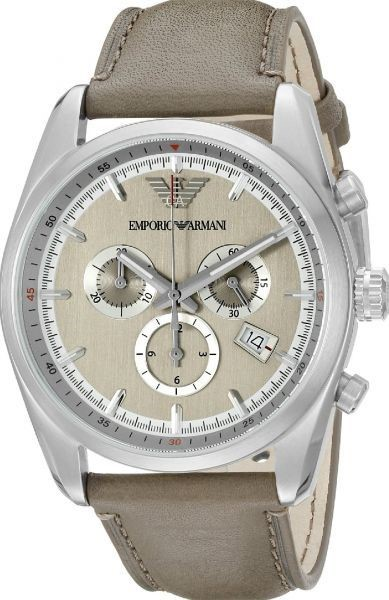 Contemporary New Armani Sportivo Stainless Steel Men's Watch