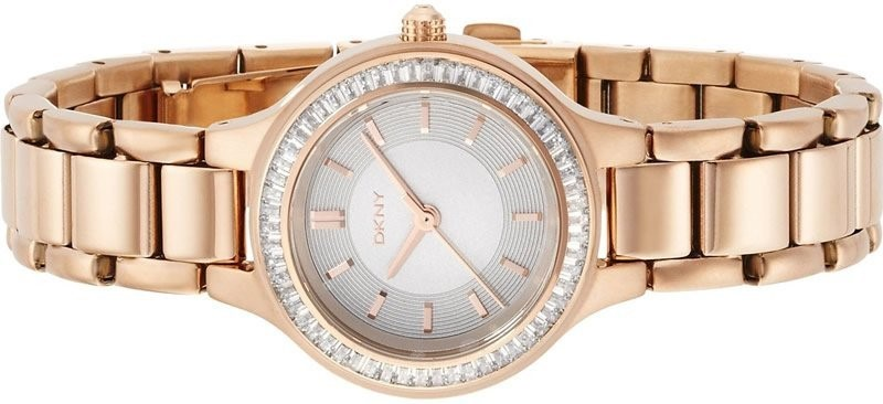 Stunning new DKNY Rose Gold Plated Ladies Watch.