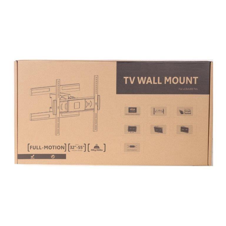 MONOPRICE TV Wall Mount, 32``-55``, Max 30Kg, Max Vesa 400 x 400, Model MP-