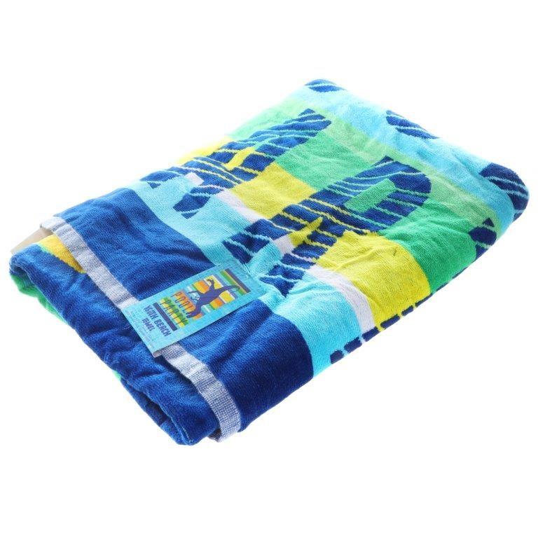 LOFT Youth Beach Towel, 76cm x 152cm, Dinosaur Pool Party. (SN:CC71910) (28