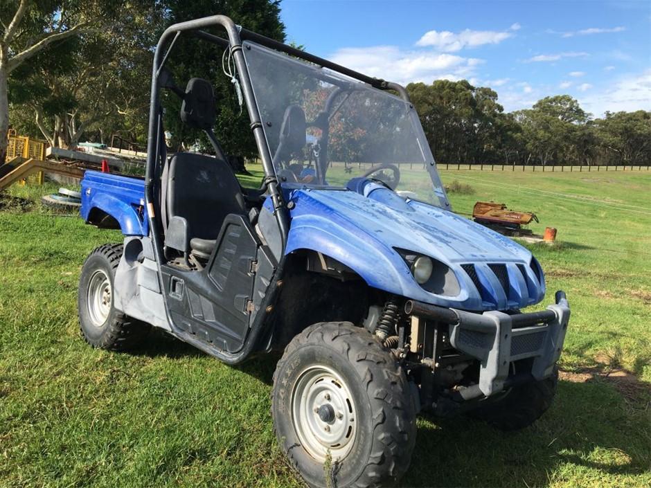 Yamaha Rhino 700FI 4x4 ATV