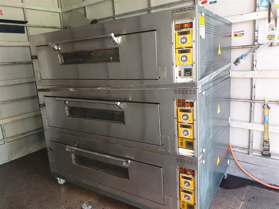 Industrial Bakery Oven 3 Tray
