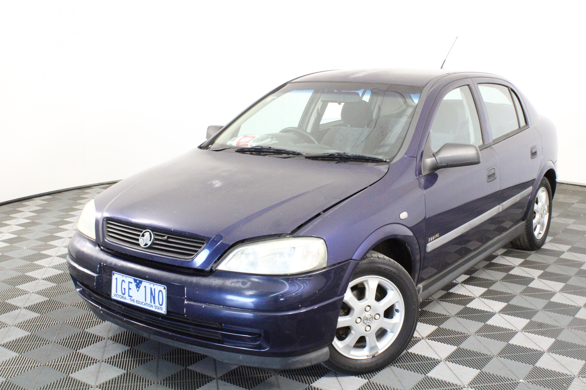 2001 Holden Astra City TS Manual Hatchback