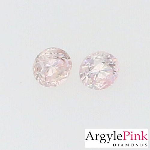 0.015ct (2pcs) Argyle pink diamond