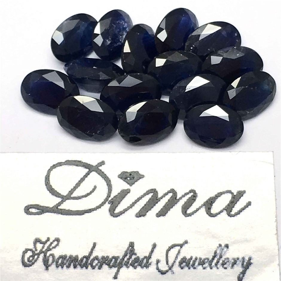 Fifteen Loose Blue Sapphire 12.66ct in Total