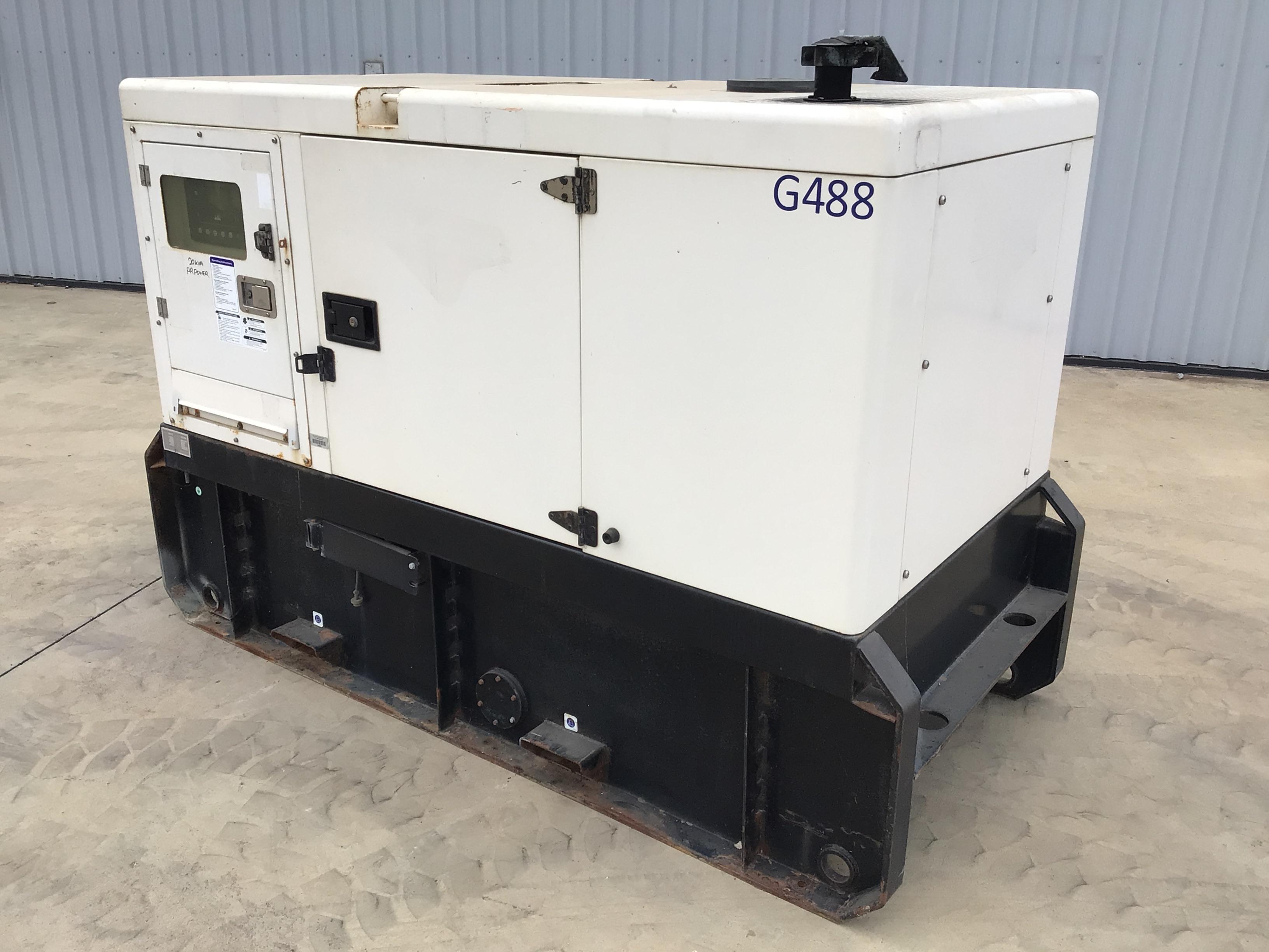 2012 Power Link GMS20KS-AU 20kva Generator (Pooraka, SA)