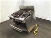 <p>S/Steel Goldstein 6 Burner Cooktop/Oven (Parts Only) </p>