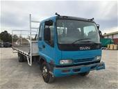 2005 Isuzu FRR 550 4x2 Tray Body Truck