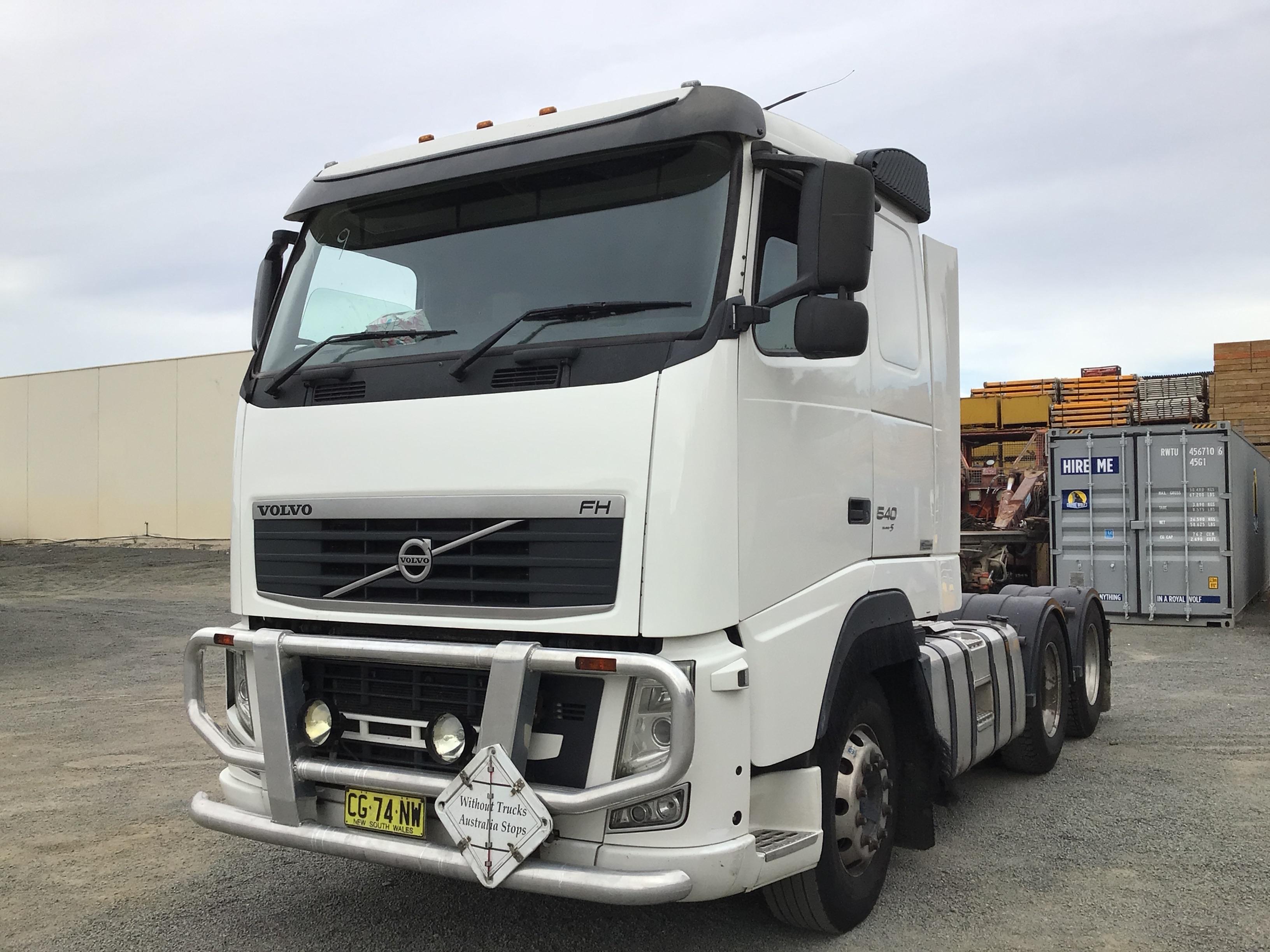 2011 Volvo FH13 6 x 4 Prime Mover Truck