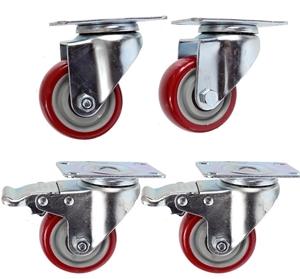 Set of 4 Heavy Duty Swivel Castor Wheels