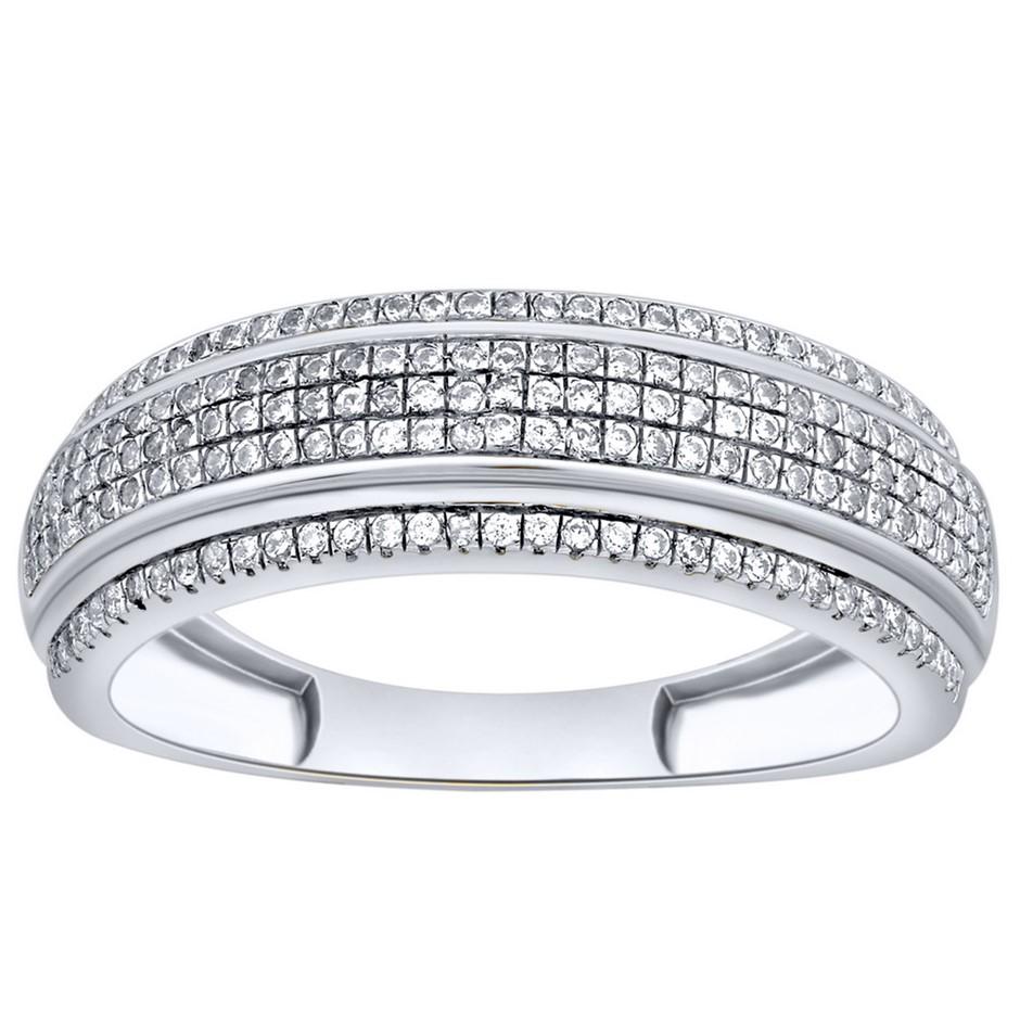 9ct White Gold, 0.25ct Diamond Ring