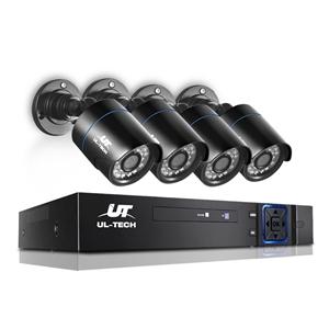 UL-tech CCTV Home Security System 8CH DV
