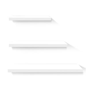 Artiss 3 Piece Floating Wall Shelves - W