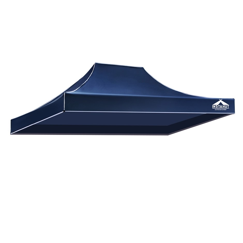 Instahut Gazebo 3x4.5 Pop Up Marquee Replacement Roof Outdoor Wedding Navy