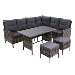 Outdoor Sofa Set Patio Furniture Lounge