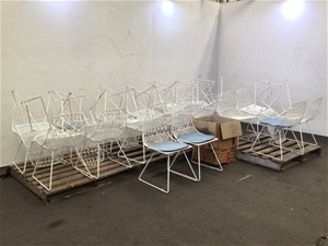 32x Cafe Chairs