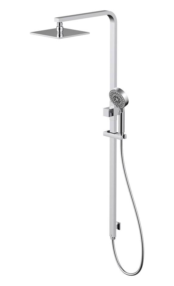 Monsoon Showers Shower System with Square Shower Head