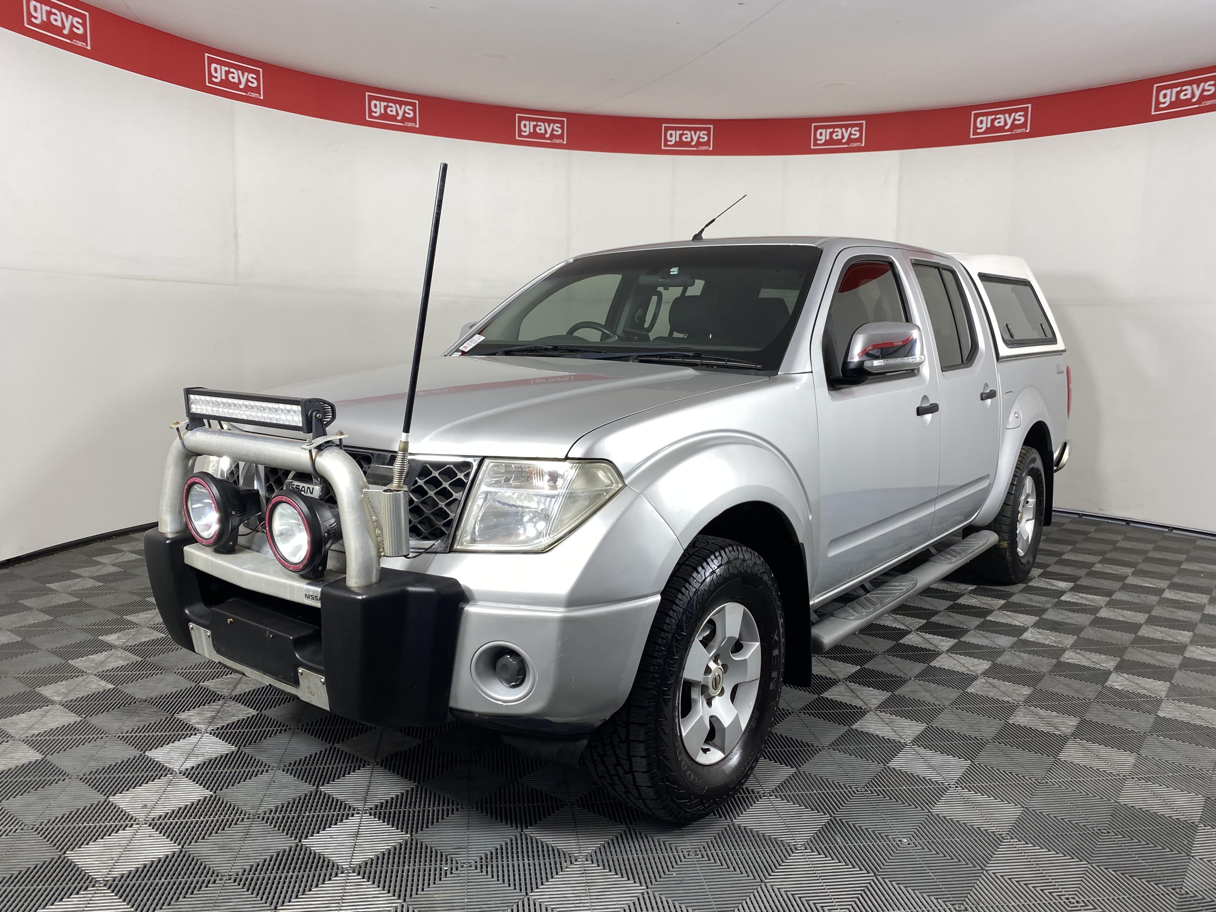 2008 Nissan Navara ST-X 4x4 D40 T/Diesel Auto Dual Cab (WOVR - Inspected)