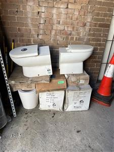 5x brand new ceramin toilet pans