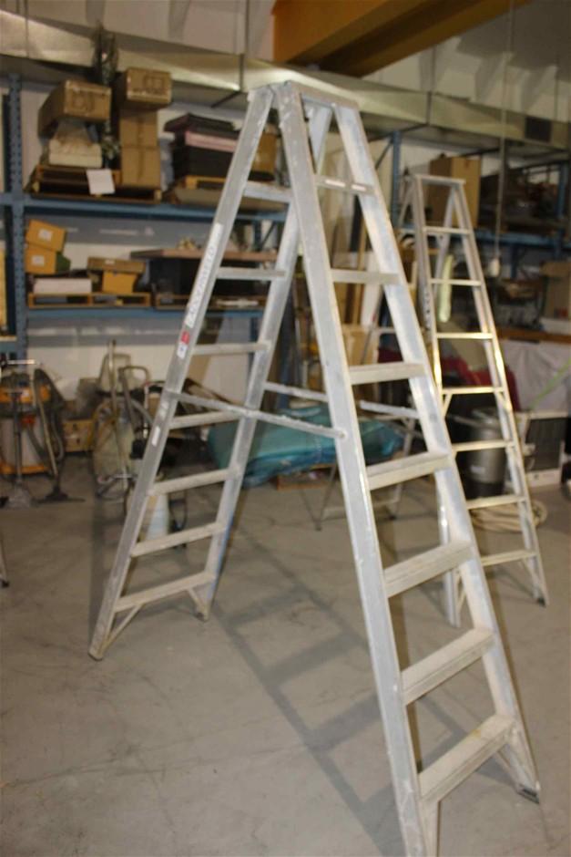 "Step Ladder Aluminium ""Bailey"" Brand"