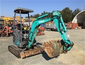 Unreserved - Kobelco  SK17SR Mini Excavator