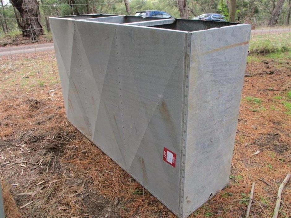 Slimline Galvanised Water Tank